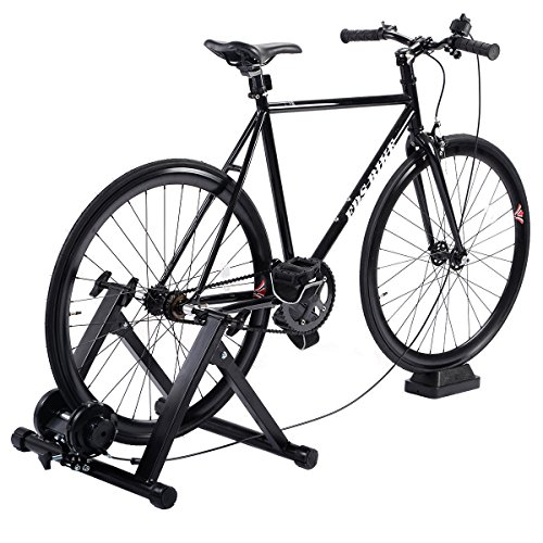 Eosphorus Bicycle Trainer Magnetic Resistance Bike Trainer Stand | Indoor Riding Exercise Portable Bicycle Training Quiet Roller by Eosphorus