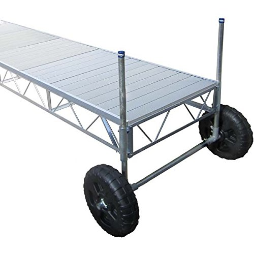 AMRP10527 * (24Ft) Straight Roll-In Dock With Aluminum Deck - 24' End Deck System