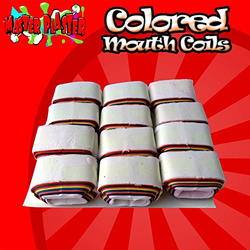 M is magic Magic Trick Colored mouth coils