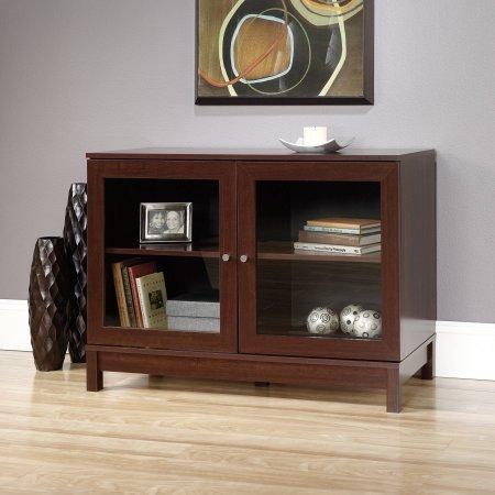 Sauder Kendall Square Display Cabinet for TVs up - Sauder Tv Stand Beginnings