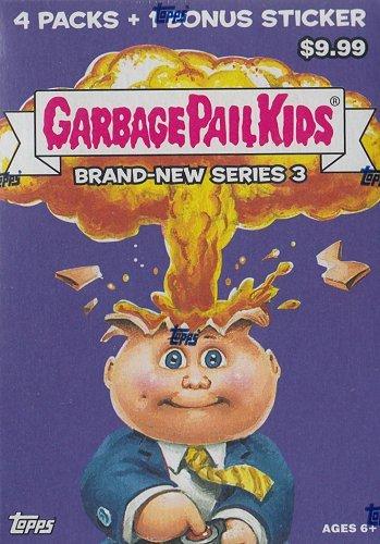 Stickers Pail Garbage (2013 Topps Garbage Pail Kids Brand-New Series 3 Blaster Box)