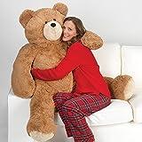 Vermont Teddy Bear - Giant Love Bear, 4 Feet Tall, Brown