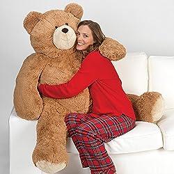 Vermont Teddy Bear - Big Giant Bear, 4 Feet Tall, Brown