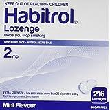Habitrol Nicotine Lozenge Mint Flavor 216 Lozenges (2mg)