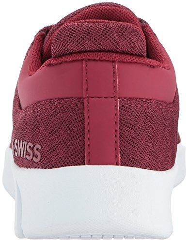 K-swiss Kvinders Aero Træner T Sneaker Tibetansk Rød / Hvid YDT6BS