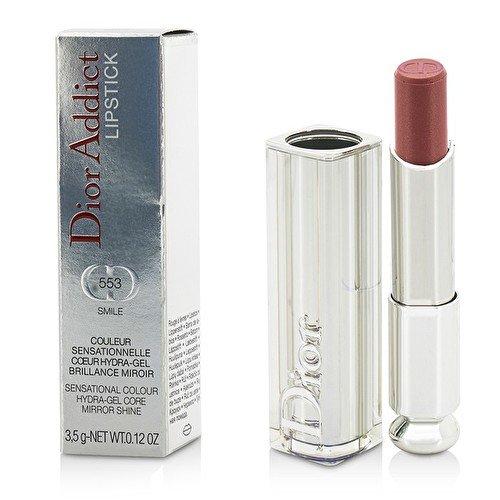 Christian Dior Addict Lipstick, No. 553 Smile, 0.12 Fluid Ounce