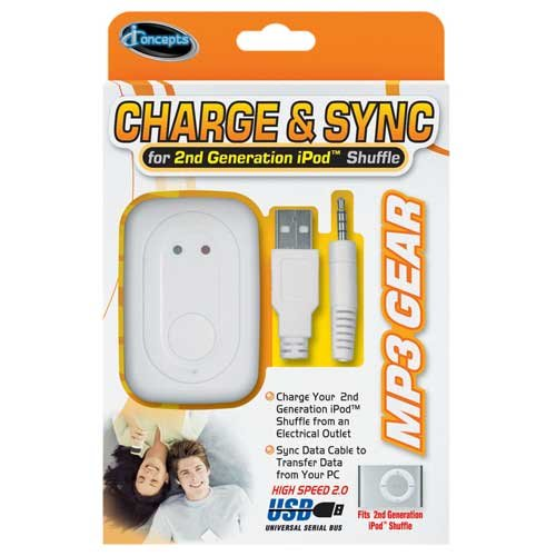 Price comparison product image Sakar 17488IP Sync & Charger Kit for 2ND Generation Ipod Shuffle