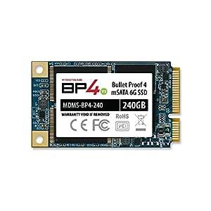 MyDigitalSSD 256GB (240GB) 50mm Bullet Proof 4 BP4 50mm mSATA Solid State Drive SSD SATA III 6G - MDMS-BP4-240