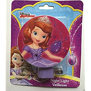 Disney Junior Princess Sofia the First Night Light Variety (Pink)