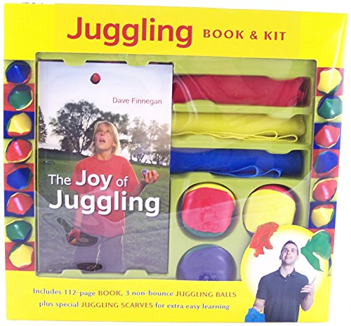Juggling Book & Kit - Juggling Set Scarves