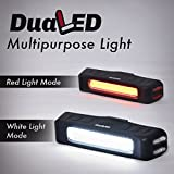 USB-Rechargeable-Bike-Light-Red-or-White-LED-glow-or-Flash-5-modes-all-in-one-Torch-Flashlight-Super-Bright-Taillight-or-Headlight-for-Cycling-Safety-set-as-Bicycle-Helmet-Rear-Tail-or-Front-Light