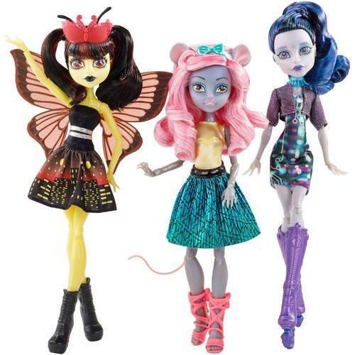 Monster High, Boo York Boo York 3-Pack [Luna Matthews, Mouscedes King, and Elle -