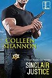 Sinclair Justice (Texas Rangers Book 2)