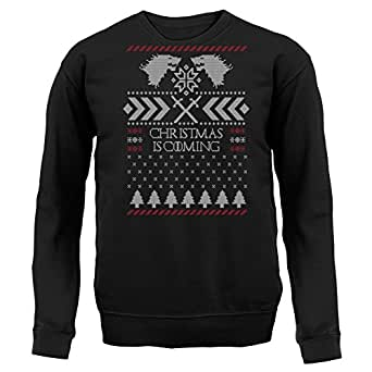 GOT Christmas Is Coming - Unisex Jumper - Black - Small