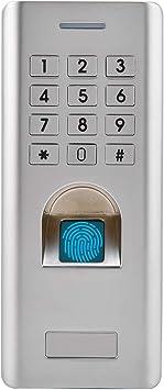 Metall Zugangssystem Zutrittskontrolle Sicherheit RFID Codeschloss Türöffner DE