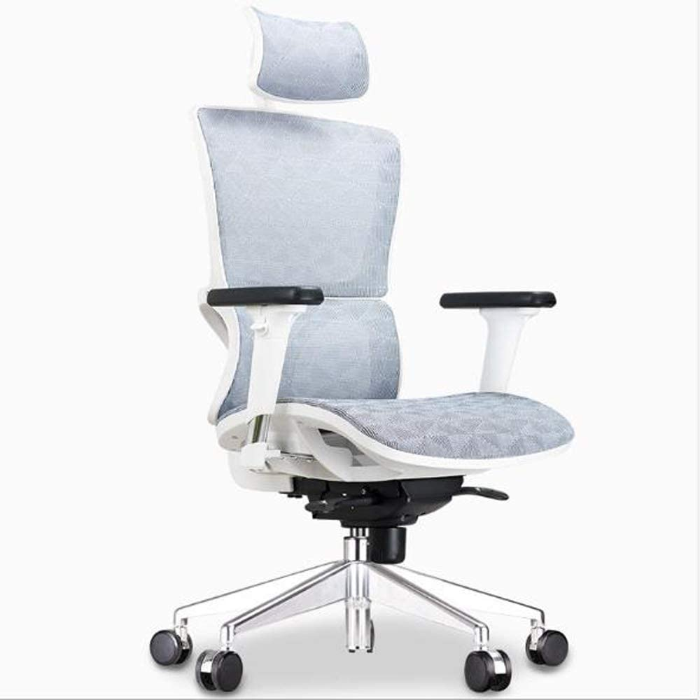 muebles de oficina asequibles Silla de oficina ergonómica: silla de escritorio con ruedas con reposabrazos ajustable,silla de malla para computadora, sillas de juego, silla giratoria ejecutiva