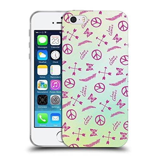 Official Cosmopolitan Seamless Boho Soft Gel Case for Apple iPhone 5 / 5s / SE