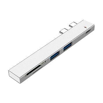 3.0 Adaptador de Tarjeta de Memoria CF USB, Portable 5 en 1 ...