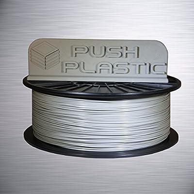 Push Plastic 3mm Gray PLA Filament 1kg (2.2 lbs) spool