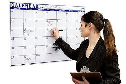 Dry Erase Calendar Monthly 24