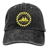 Twin Peaks Packard Mill Unisex Adult Adjustable Denim Dad Cap