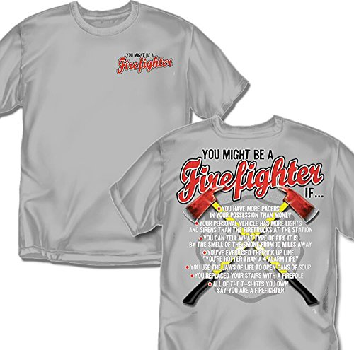 Coed Sportswear Firefighter T Shirt Might product image