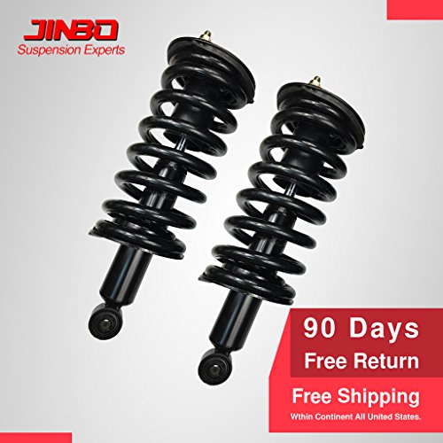 Qx56 Absorber Infiniti Shock (VioletLisa New Set Of 2 Front Suspension Gas Shock Absorber Strut & Coil Spring For 04-10 Infiniti QX56 & 05-14 Nissan Armada/04-15 Titan 4WD Exc. Pro 4X)
