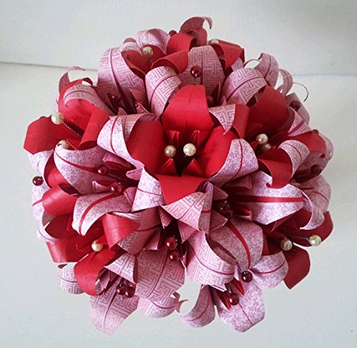 Paper flowers lily origami red christmas bouquet alternative to paper flowers lily origami red christmas bouquet alternative to poinsettia mightylinksfo