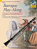 img - for Baroque Play-Along: 12 Favorite Works from the Baroque Era (Schott Master Play-Along) book / textbook / text book