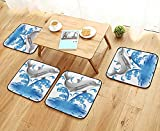Leighhome Universal Chair Cushions Decor Jumping Dolphin Animal...