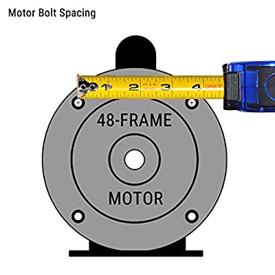 HydroMaster 1.5 HP Hot Tub Spa Pump Side Discharge 2-Speed 48-Frame LX Motor 120V by (also replaces Waterway or Aqua-Flo)