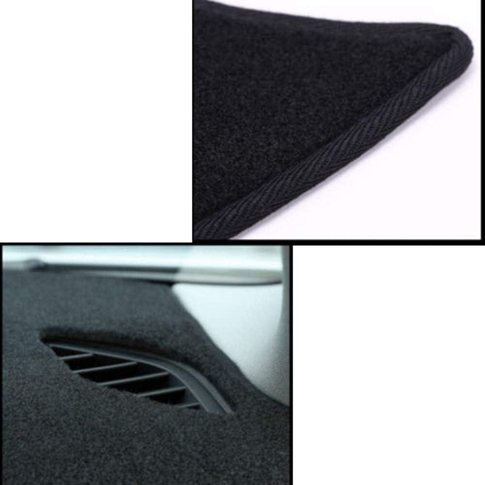 para Honda Accord 7Th 2003-2007 JJKTCV Material de Fibra Almohadilla del salpicadero del autom/óvil Interior///del autom/óvil Negro/Alfombrilla/para el Sol del autom/óvil