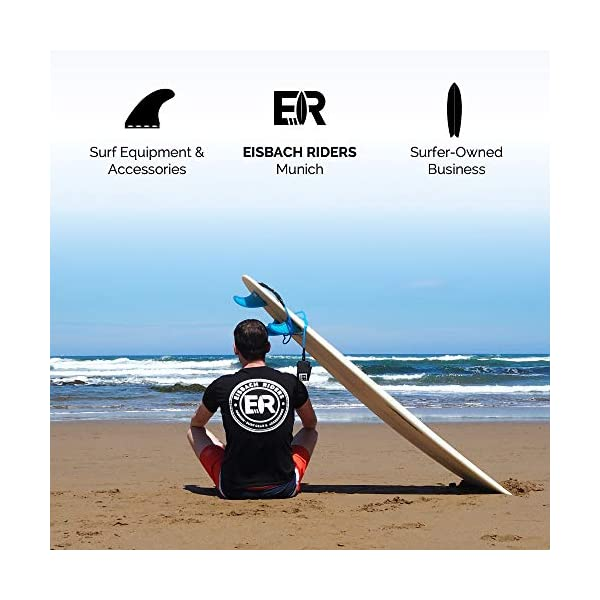 Eisbach Riders SUP - Longboard con pinna singola pinna americana – Stand Up Paddling Center Finin con vite a pinna… 7 spesavip