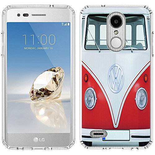 LG K30 Case [VW Transporter](Clear) PaletteShield Flexible Slim TPU skin phone cover (fit LG K30/Premier Pro/X410) -  LGK30-PaletteShield
