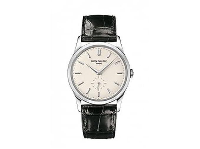 PATEK PHILIPPE CALATRAVA de Hombre 18 K Oro Blanco Reloj - 5196 G-001: Patek Philippe: Amazon.es: Relojes