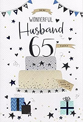 Husband On Your 65th Birthday Card By Icg Cards