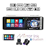 Best Link Bluetooth Audio Receivers - Hikity Car Stereo Audio 4.1 Inch Touch Screen Review