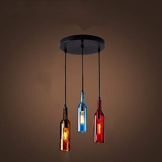Lámparas LED de Luces de Techo de la lámpara Pendiente Botellas de ...