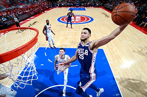 Ben Simmons Philadelphia 76ers Basketball Limited Print Photo Poster Size 24x36