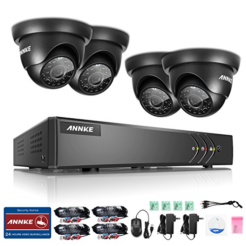 Annke Security Recorder Weatherproof Detection