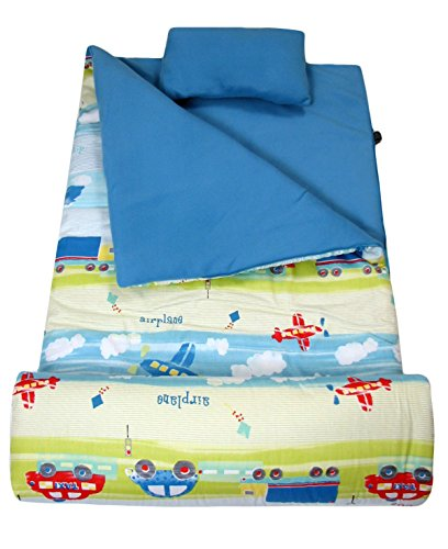 SoHo kids Sky High Truck children sleeping slumber bag with pillow and carrying case lightweight foldable for sleep over for $<!--$39.99-->