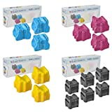 15 Pack of Colorsticks for Phaser 8560 6(Blk) and 3(C,M,Y), Office Central