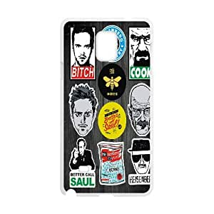 ZK-SXH - Breaking Bad Customized Hard Back Case for Samsung Galaxy Note 4, Breaking Bad Custom Cell Phone Case