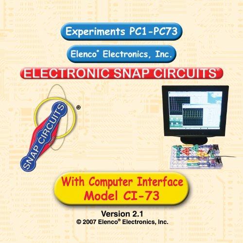Snap Circuits CI-73 Computer Interface Kit (Snap Circuits Computer)