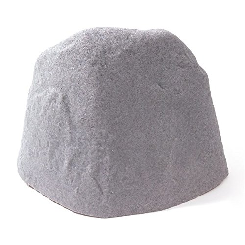 MD Group Garden Stone Medium River Rock High Density Polyethylene Novelty Lawn Architectural (Architectural Stone)