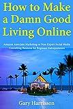 How to Make a Damn Good Living Online : Amazon Associate Marketing or Non-Expert Social Media Consulting Business for Beginner Entrepreneurs