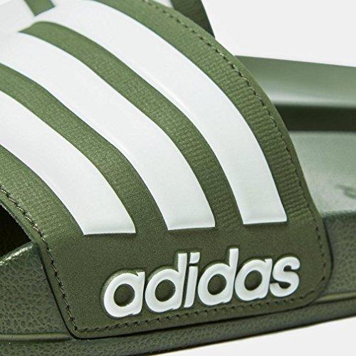 Verde Adidas Slides 42 Cloudfoam Adilette gqxRxtX