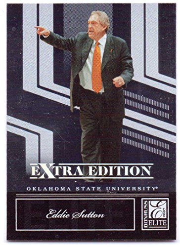 Eddie Sutton 2007 Donruss Elite Extra Edition #69 - Oklahoma State Cowboys