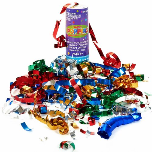 Confetti Poppers Party Accessory