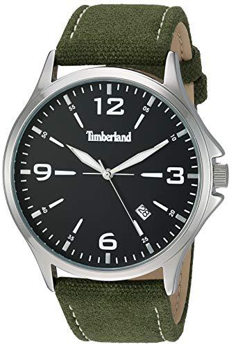 Timberland Men's 15908JYS02 Provincetown Green/Silver/Black Watch
